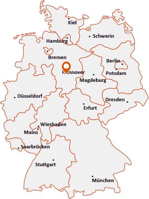 Wo liegt Hildesheim