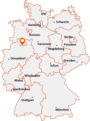 Wo liegt Hilter am Teutoburger Wald