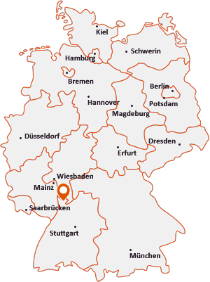 Wo liegt Hirschberg an der Bergstraße