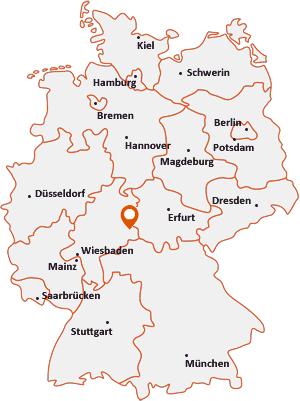 Wo liegt Hofbieber