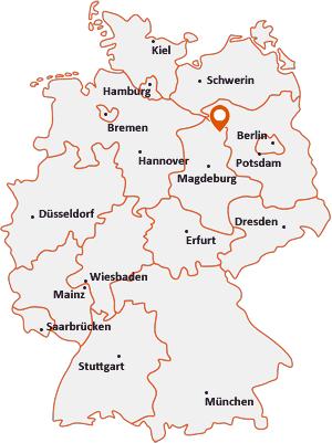 Wo liegt Hohenberg-Krusemark