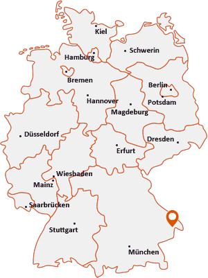 Wo liegt Hutthurm