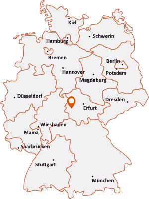Wo liegt Barchfeld-Immelborn