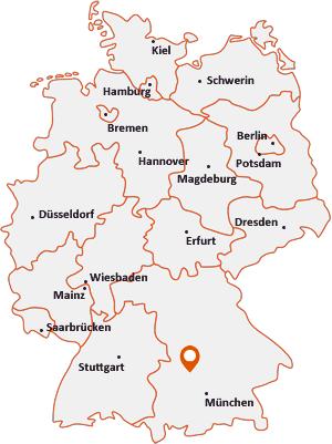 Wo liegt Inchenhofen