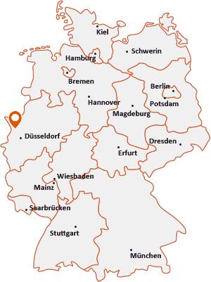 Wo liegt Kamp-Lintfort