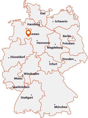Wo liegt Kirchdorf bei Sulingen