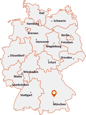 Wo liegt Kirchdorf an der Amper