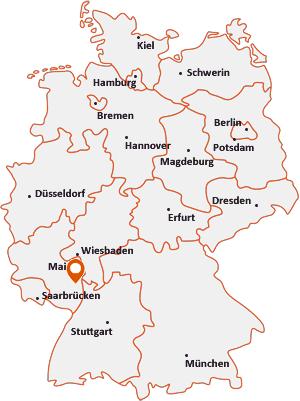 Wo liegt Kirchheim an der Weinstraße