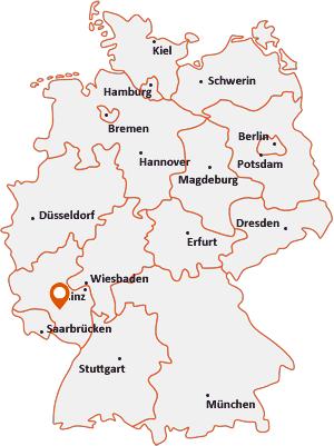 Wo liegt Kirrweiler bei Lauterecken