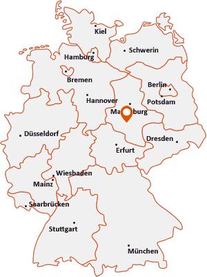 Wo liegt Klostermansfeld