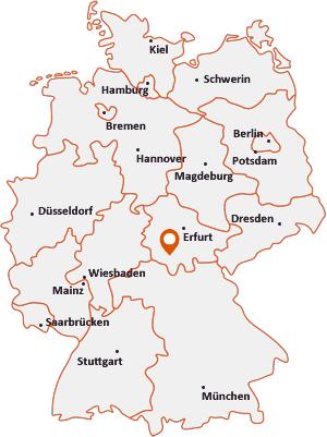 Wo liegt Kloster Veßra