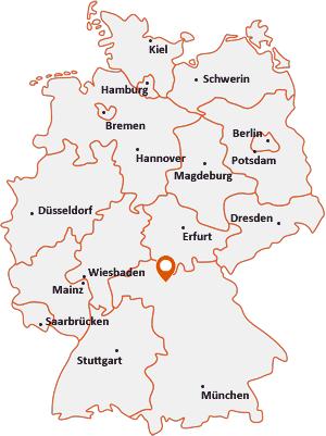 Wo liegt Knetzgau