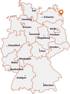 Wo liegt Leopoldshagen