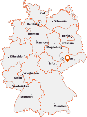 Wo liegt Lichtenau (Sachsen)