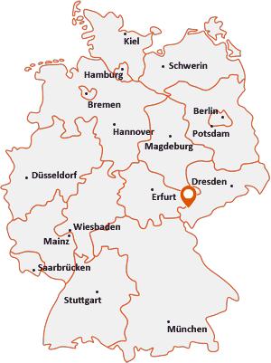 Wo liegt Limbach (Vogtland)