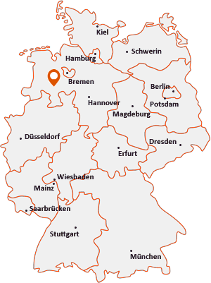 Wo liegt Lohne (Oldenburg)