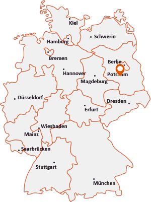 Wo liegt Luckenwalde