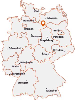 Wo liegt Lüchow (Wendland)