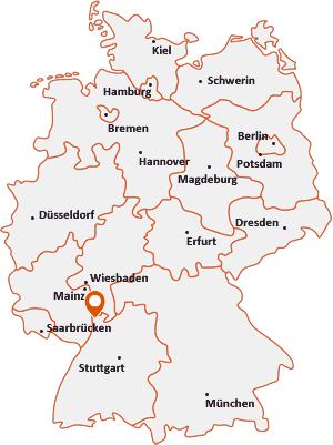 Wo liegt Mannheim