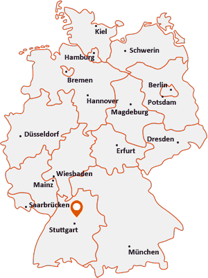Wo liegt Marbach am Neckar