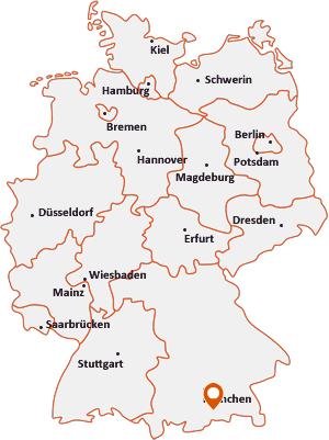 Wo liegt Miesbach