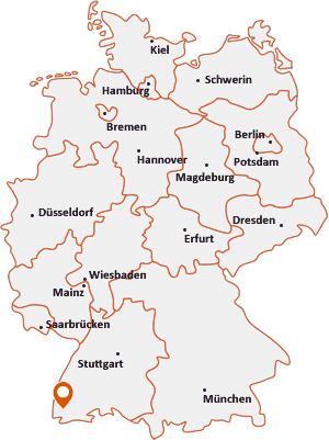 Wo liegt Müllheim (Baden)