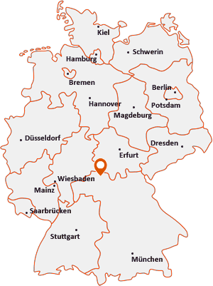 Wo liegt Münnerstadt