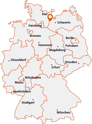 Wo liegt Mustin bei Ratzeburg