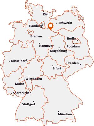 Wo liegt Nahrendorf