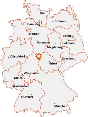 Wo liegt Nentershausen (Hessen)
