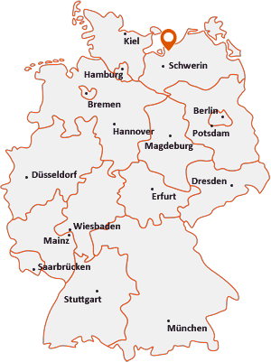 Wo liegt Neuburg (Mecklenburg)