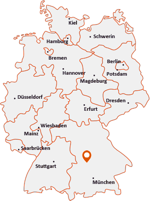 Wo liegt Neuburg an der Donau