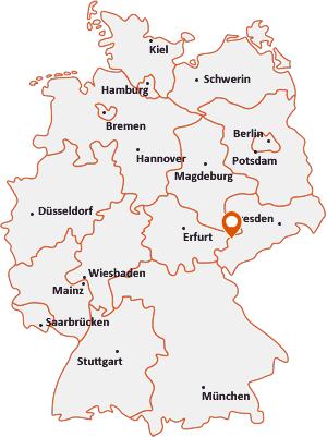 Wo liegt Neukirchen/Pleiße