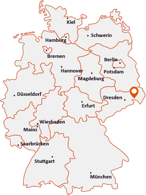 Wo liegt Neukirch/Lausitz