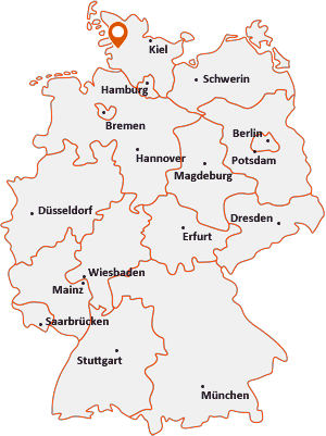 Wo liegt Nordhastedt