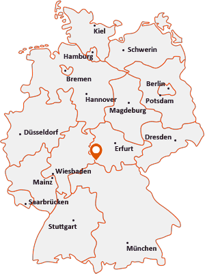 Wo liegt Nordheim vor der Rhön