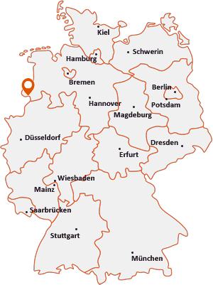 Wo liegt Nordhorn