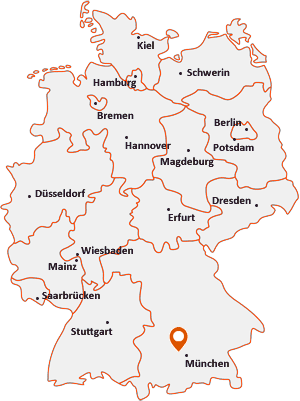 Wo liegt Olching