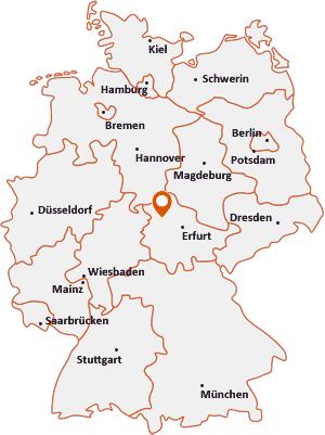 Wo liegt Oppershausen