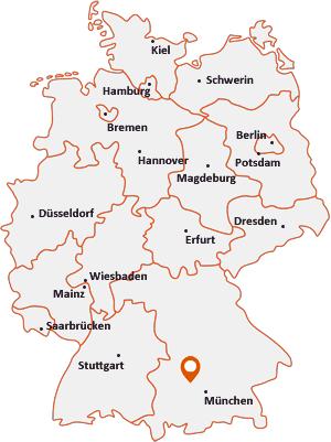 Wo liegt Pfaffenhofen an der Glonn