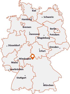 Wo liegt Poppenhausen (Unterfranken)