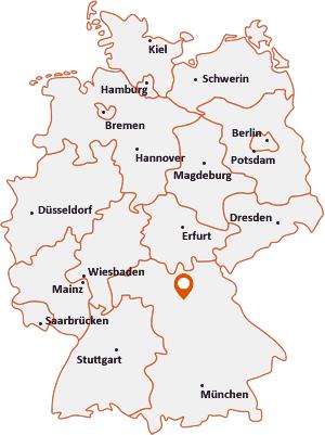 Wo liegt Poxdorf (Oberfranken)