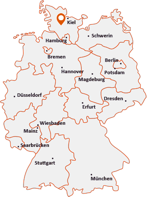 Orte mit Poy auf der Deutschlandkarte