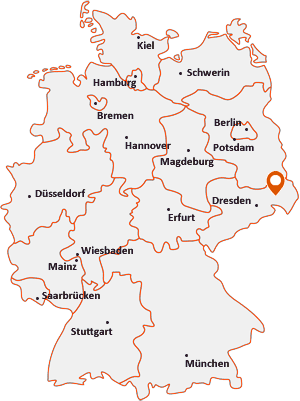 Wo liegt Puschwitz