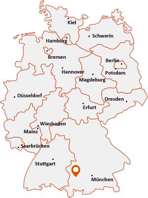 Wo liegt Rammingen (Bayern)