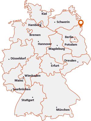 Wo liegt Randowtal
