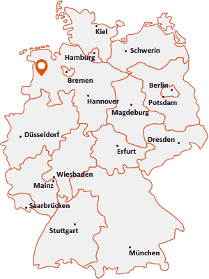 Wo liegt Rastdorf