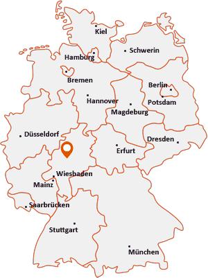 Wo liegt Reiskirchen