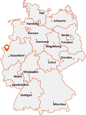 Wo liegt Rheinberg