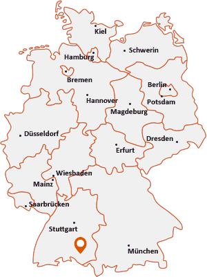Wo liegt Riedhausen
